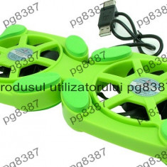 Cooler laptop, masuta suport laptop, cooler USB - 114810 - Masa Laptop
