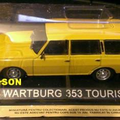Macheta auto, 1:43 - Macheta metal DeAgostini Wartburg 353 Tourist noua+revista Masini de Legenda 41