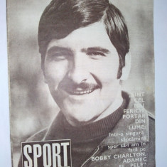 Revista SPORT Nr. 8 / 1970 Articol : Dobrin - Fisa biografica
