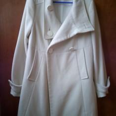 Palton Zara Alb L - Palton dama Zara, Marime: L