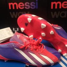 Ghete fotbal Adidas, Iarba - Ghete ADIDAS F10 TRX MESSI WAY originale