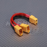 XT60 Harness for 2 Packs in Parallel (FS00575) - Conector