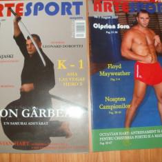 ARTE SPORT - REVISTA SPORTURILOR DE LUPTA SI CONTACT - NR 1 SI 2 / 2007 ( K1 ) - Karate