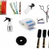 set  kit coafor foarfeca tuns foarfece frizerie salon foarfeci