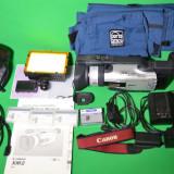 Camera Video Canon, Mini DV, CCD, 10-20x, Intre 2 si 3 inch - CANON XM2, stare perfecta + accesorii + lampa + geanta
