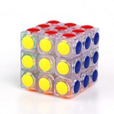 Jocuri Logica si inteligenta, Unisex - CUB RUBIK. MAGIC CUBE. Model deosebit. TRANSPARENT. Foto Reale. SIGILAT.