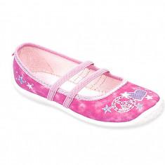 Pantofi de casa pt fete - art paola 567-40b - Papuci copii, 29, Roz