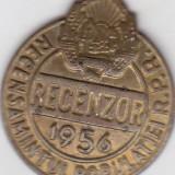 Insigna Recensamintul Populatiei R.S.R 1956 Recenzor