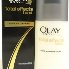 Crema de maini - Cremă de mâini Olay Total Effects 7 in 1 Anti-ageing Hand Treatment Cream