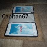 Husa Silicon Huawei Ascend Y530 Negru Si Transparent