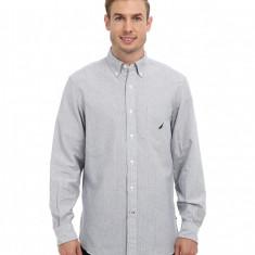 Barbati Nautica L/S Stripe Oxford Twill Woven Shirt | Produs100% original | Livrare cca 10 zile lucratoare | Aducem pe comanda orice produs din SUA - Camasa barbati