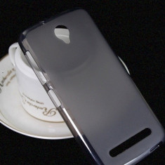 Husa telefon, Allview V1 Viper S, Negru, Gel TPU, Husa, Fara snur - Husa Silicon Gel TPU Allview V1 Viper S mata anti-amprenta