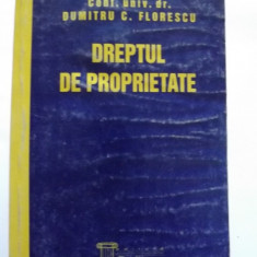 DREPTUL DE PROPRIETATE - DUMITRU FLORESCU