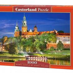 Puzzle castorland Castelul Wawel noaptea - Polonia 1000 piese