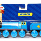 Thomas & Friends jucarie trenulet - Wooden Railway - locomotiva Gordon din lemn cu magnet - in ambalajul original - NOU