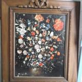 Reproducere, Flori - Ulei pe panza