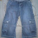 Haine Copii 7 - 9 ani, Blugi, Fete - Pantaloni blugi treisfert, marca Roxy, fete 8 ani