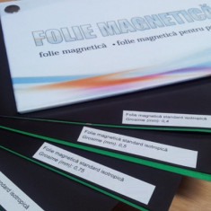 Folie magnetica autoadeziva, latime 0, 62 m, grosime 0, 4 mm
