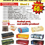 Foite tigari - BLEND 2 - 1.500 Tuburi tigari pentru injectat tutun, diverse modele, tabachera