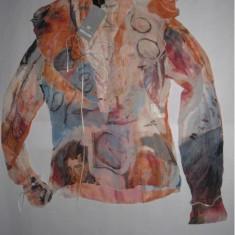 Bluza bluzita dama femei - ROBERTO CAVALLI 100% autentica zara guess armani - Bluza dama Roberto Cavalli, Marime: 42, Culoare: Din imagine, Maneca lunga