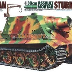+ Macheta 1/35 Tamiya 35177 - German 38cm Assault Mortar Sturmtiger + - Macheta auto