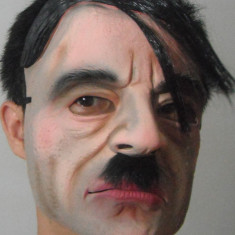 Masca carnaval - Masca Hitler Nazi Reich Halloween costum petrecere tematica party cosplay +CADOU