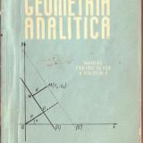 Geometrie analitica - Manual clasa A - XI -a, Matematica