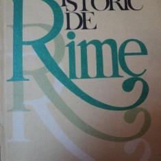 DICTIONAR ISTORIC DE RIME-OLIMPIA BERCA BUCURESTI 1983
