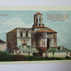 C.P. COLOR NECIRCULATA SUCEAVA BISERICA MIRAUTILOR INAINTE DE RESTAURAREA DIN 1903 - Carte Postala Bucovina 1904-1918