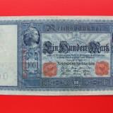 Bancnota Straine, Europa, An: 1910 - GERMANIA - 100 Mark 1910