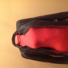 Geaca Piele Neagra Gen Zara Dama - Geaca dama