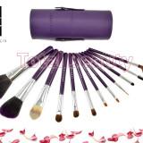 Trusa 12 pensule machiaj profesionale Purple extravaganza Fraulein38 Germania