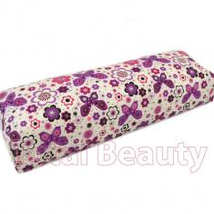 Suport Mana Flower Power Purple - suport mana pentru manichiura - Ustensile