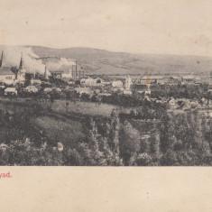 HUNEDOARA, VEDERE GENERALA - Carte Postala Transilvania pana la 1904, Necirculata, Printata