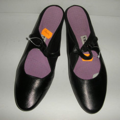 Pantofi dama, Piele naturala - OFERTA! Pantofi/saboti TSUBO originali Noi piele manusa calapod anatomic Sz 37 !