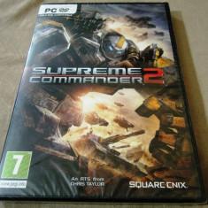Joc Supreme Commander 2 PC, original, sigilat, 19.99 lei - Jocuri PC Thq, Shooting, 12+, Single player