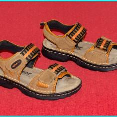 Sandale copii, Baieti, Piele naturala - DE FIRMA _ Sandale de calitate, din piele, comode, RIEKER _ baieti | nr. 29