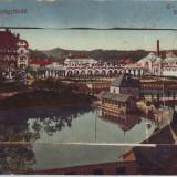 Romania, Vizakna, Ocna Sibiu carte postala scrisa necirculata 1914: Leporello 10 - Carte Postala Transilvania 1904-1918, Ocna Sibiului, Necirculata, Fotografie