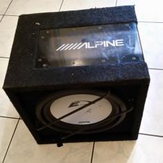 OFERTA subwoofer alpine+statie JBL+casetofon Alpine - Pachete car audio auto