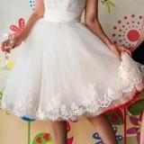Rochie de mireasa sau logodna, scurta
