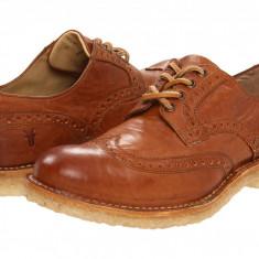 Pantofi Frye Hudson Wingtip | 100% originali, import SUA, 10 zile lucratoare - Pantofi barbati