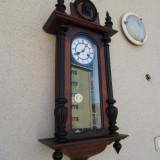 Pendula / Ceas de perete cu pendul Junghans