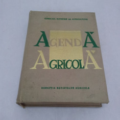 AGENDĂ AGRICOLĂ 1968