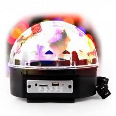 Lumini club - Glob Disco - Jocuri De Lumini Cu MP3 Player Bluetooth Si Telecomanda