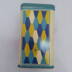 Cutie Reclama - CUTIE METALICĂ ALIMENTE AGATEX - 1970