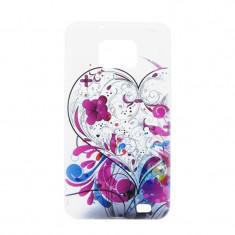 Husa Samsung Galaxy S2 i9100/i9105 Procell Silicon Imprimat P76 Urban Heart