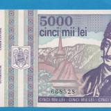 5000 lei 1993 aUNC, An: 1993
