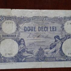 Bancnote Romanesti, An: 1920 - Lot bancnote vechi romanesti