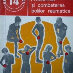 Prevenirea si combaterea bolilor reumatice (14) -Stefan Suteanu, 1983 - Carte Recuperare medicala