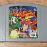 Joc Consola, Actiune, Toate varstele, Single player - Joc Banjo Kazooie pentru Nintendo 64